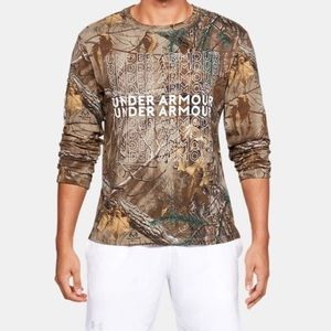 NWT UNDER ARMOUR REAL TREE TEE